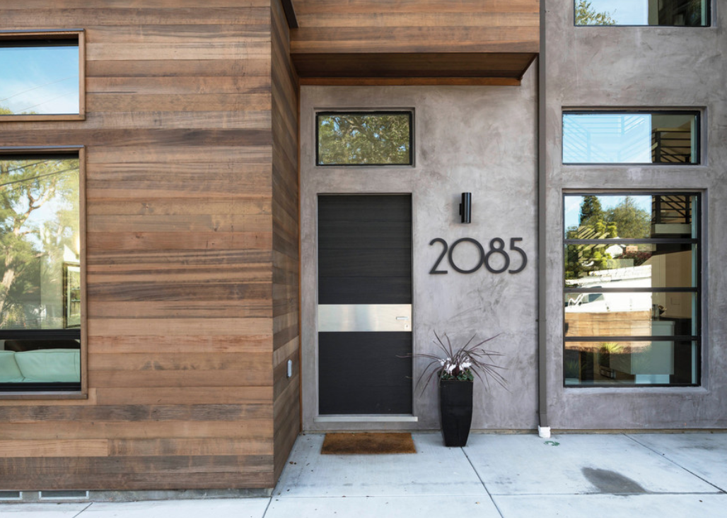 "Image courtesy of <a href=""https://www.houzz.com/photo/84166887-modern-custom-house-menlo-park-contemporary-exterior-san-francisco"">Houzz</a>"