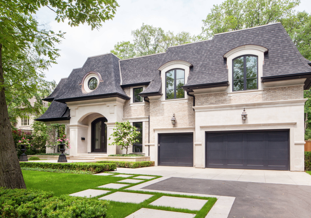 "Image courtesy of <a href=""https://www.houzz.com/photo/36493541-spring-road-transitional-exterior-toronto"">Houzz</a>"