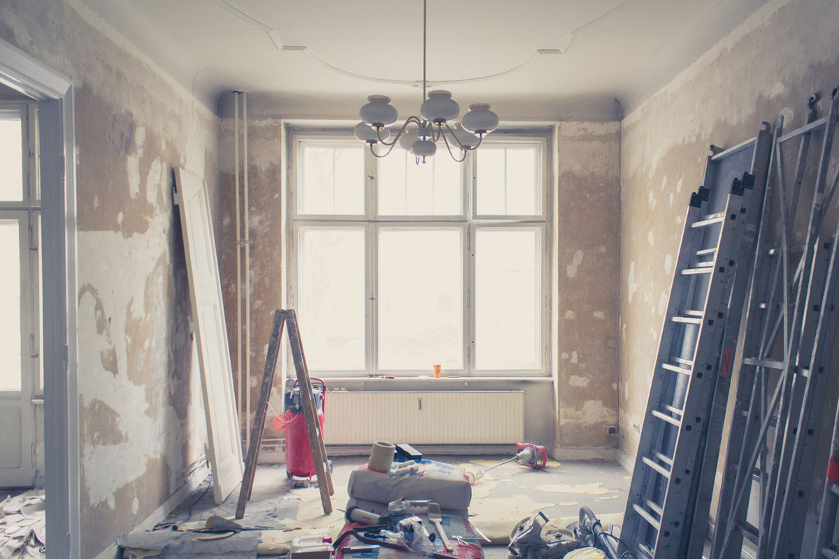 Mitigate the stress of living through a home renovation by planning ahead.