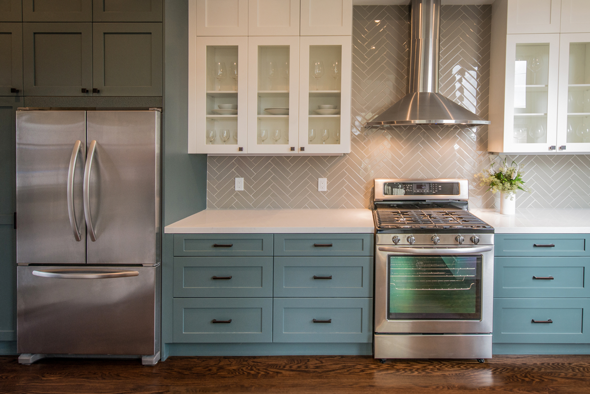 To Spruce Up The Kitchen Kelowna Homeowners Will Often Choose Unique Backsplash Tile Options
