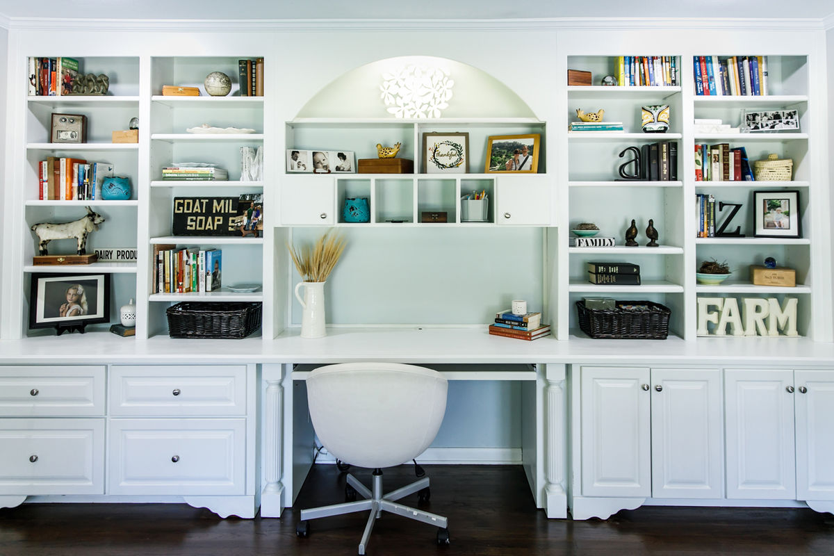 Increase your work productivity with a home office renovation that will transform your space.