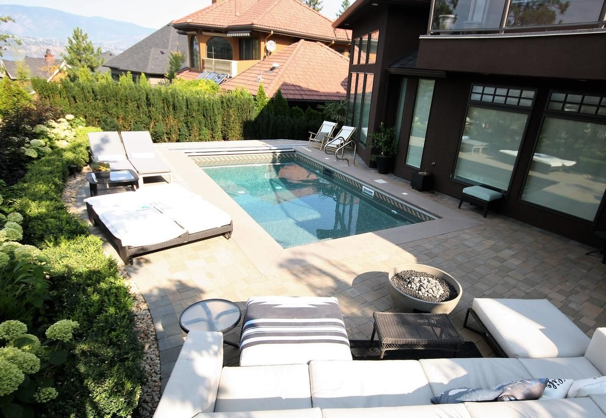 Designs for kelowna pools making the most of nature for Pool design kelowna